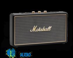 MARSHALL Stockwell Hordozható Bluetooth hangszóró Fekete