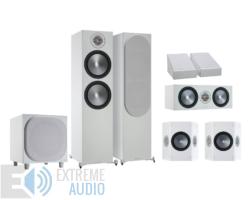 Monitor Audio Bronze 500 5.1.2 Dolby Atmos hangfalszett, fehér