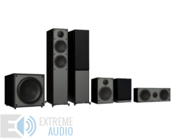 Monitor Audio Monitor 200 (4G) 5.1 hangsugárzó szett, fekete