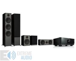 Yamaha RX-V4A + Monitor Audio Monitor 300 (4G) 5.0 házimozi szett, fekete