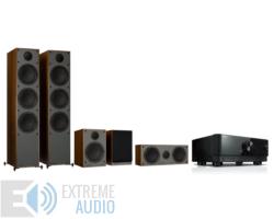 Yamaha RX-V4A + Monitor Audio Monitor 300 (4G) 5.0 házimozi szett, dió
