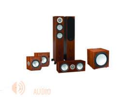 Monitor Audio Silver 200 5.1 hangfalszett, dió