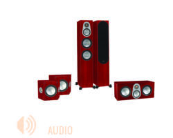 Monitor Audio Silver 300 5.0 hangfalszett, rózsafa