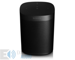 Sonos One (Gen 2) Zóna lejátszó, fekete (Bolti bemutató)