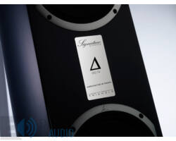 Triangle Signature Alpha frontsugárzó pár, magasfényű mahagóni
