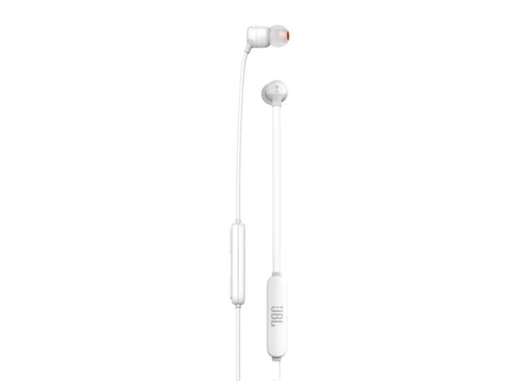 JBL T110BT fülhallgató, fehér