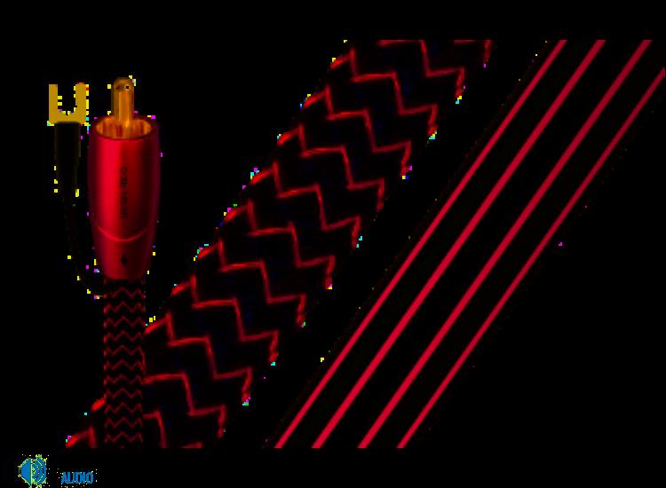 Audioquest Irish Red sub kábel 2m