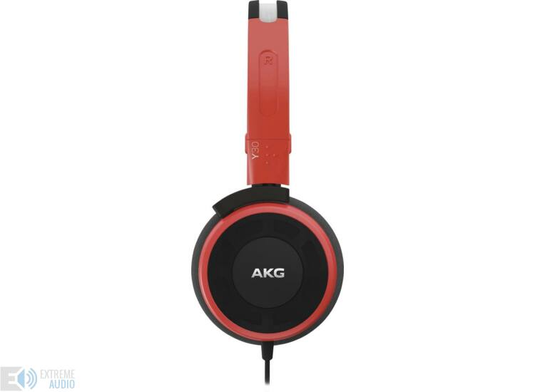 AKG Y30 fejhallgató piros