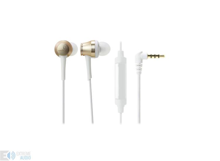 Audio-technica ATH-CKR70iS Hi-Res Prémium fülhallgató, pezsgő