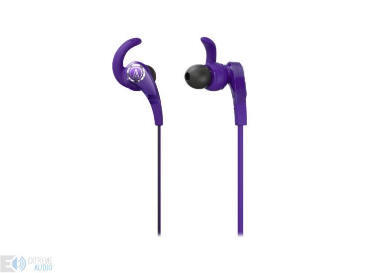 Audio-technica ATH-CKX7 fülhallgató, lila