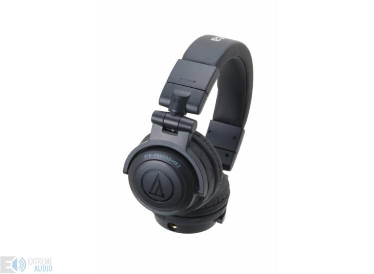 Audio-Technica ATH-PRO500MK2 fejhallgató, fekete (Bemutató darab)