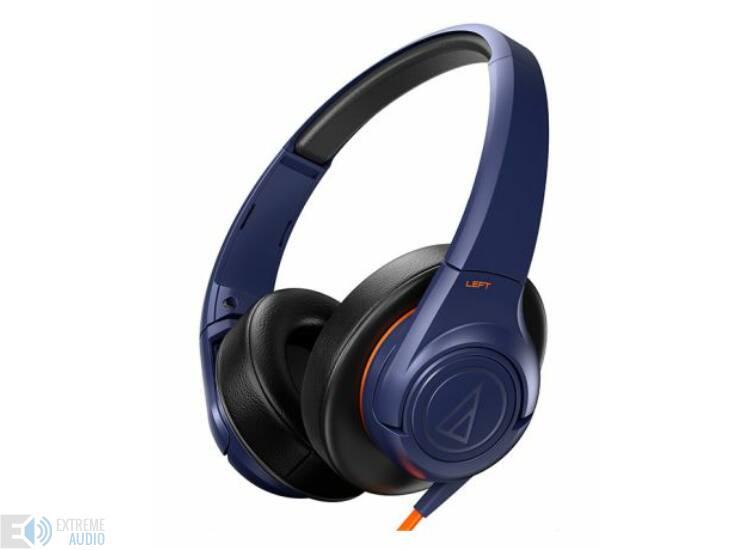 Audio-Technica ATH-AX3IS fejhallgató, kék