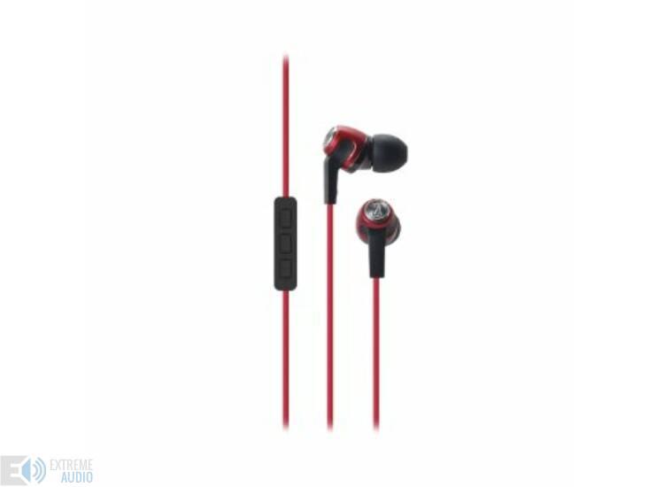 Audio-Technica ATH-CK323i red fülhallgató