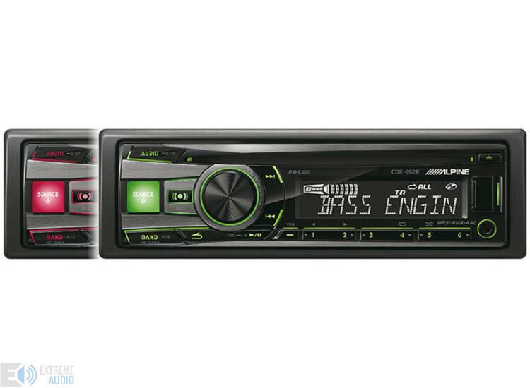 Alpine CDE-192R autóhifi fejegység