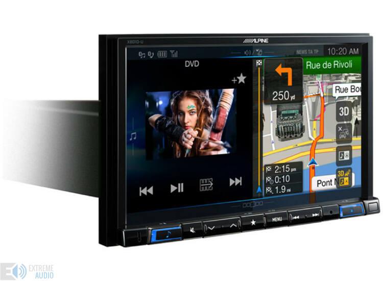 ALPINE X801D-U Fejlett navigációs rendszer