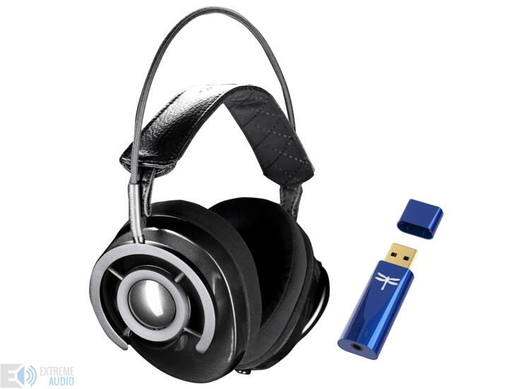 AudioQuest NightOwl Carbon fejhallgató + Dragonfly Cobalt USB DAC