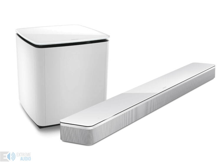 Bose Soundbar 700 hangprojektor + Bass Module 700 szett, fehér