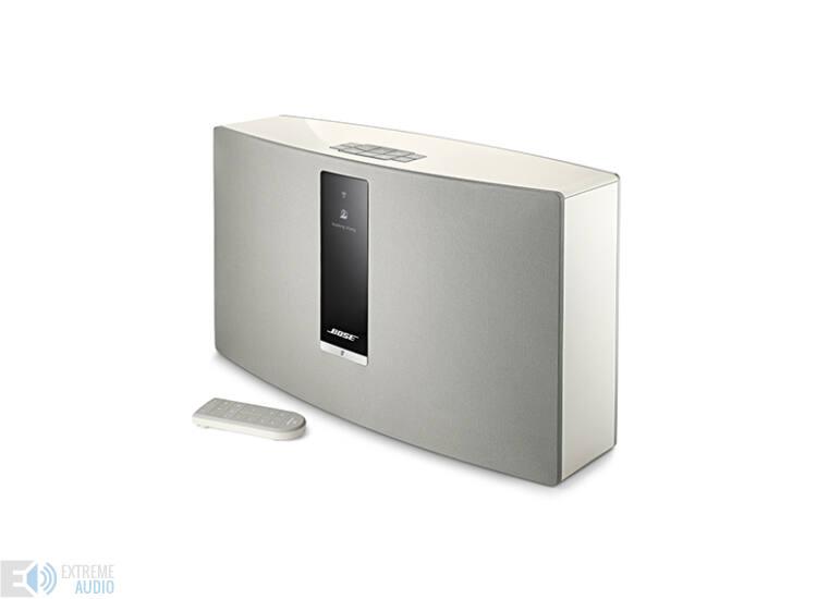 Bose SoundTouch 30 Széria III fehér Wi-Fi zenei rendszer (Bemutató darab)