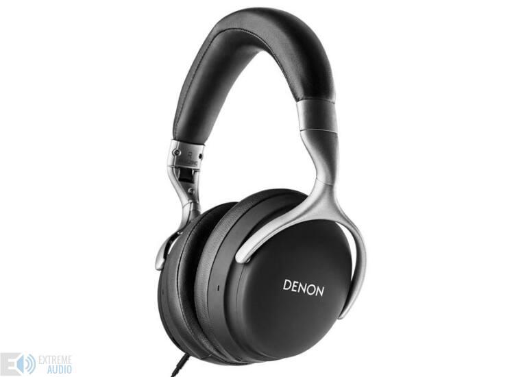 Denon AH-GC25NC zajszűrős fejhallgató, fekete (Bemutató darab)