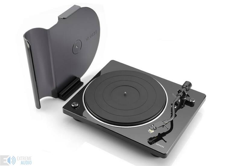 Denon DP-400 Lemezjátszó, fekete