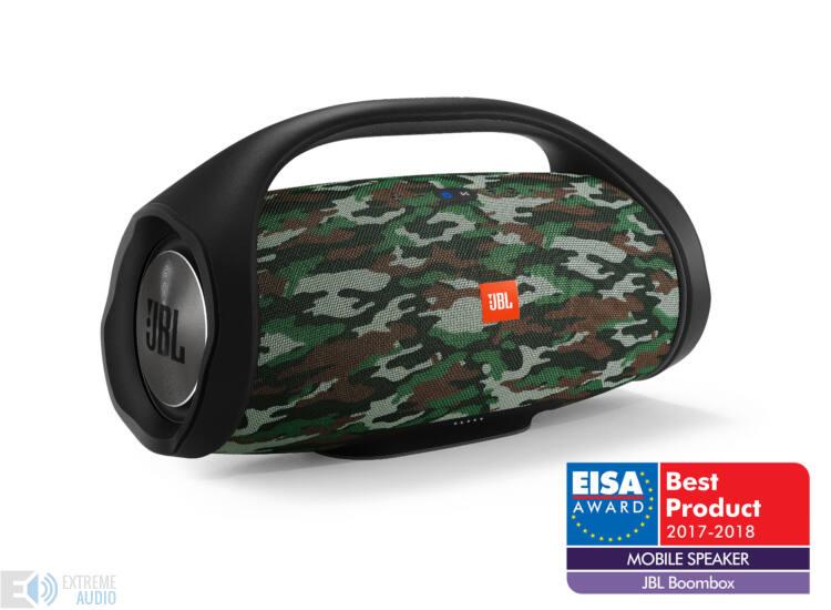 JBL BoomBox vízálló hordozható Bluetooth hangszóró, squad DEMO