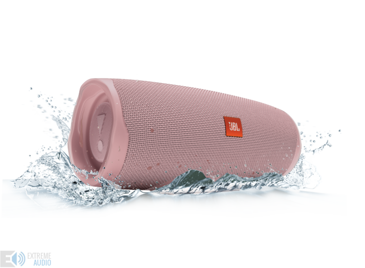 JBL Charge 4 vízálló hordozható Bluetooth hangszóró (Dusty Pink) pink
