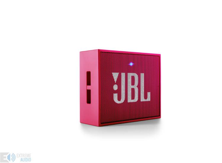 JBL GO hordozható bluetooth hangszóró, pink