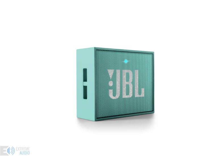 JBL GO hordozható bluetooth hangszóró, türkizkék