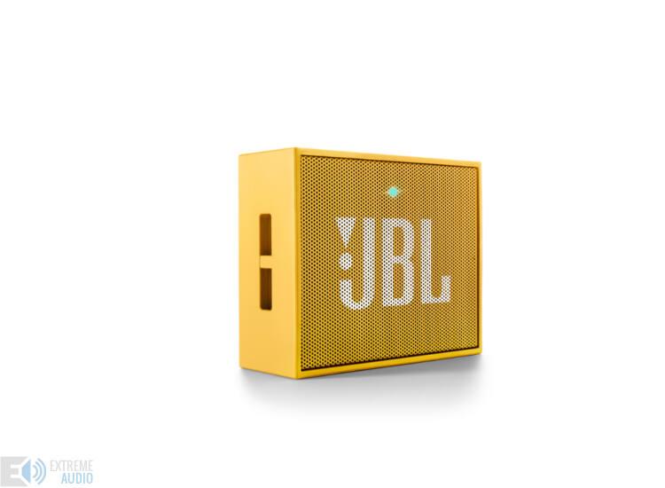JBL GO hordozható bluetooth hangszóró, sárga