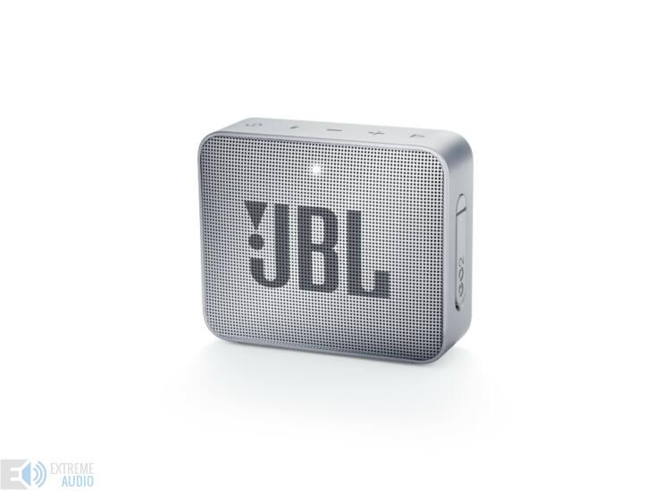JBL GO 2  hordozható bluetooth hangszóró (Ash Grey), szürke