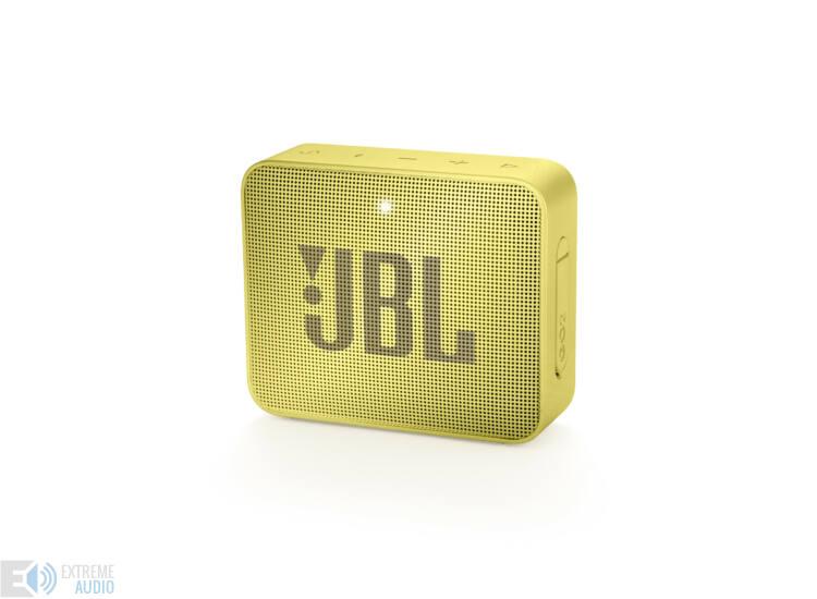 JBL GO 2  hordozható bluetooth hangszóró (Lemonade Yellow), sárga (Bemutató darab)