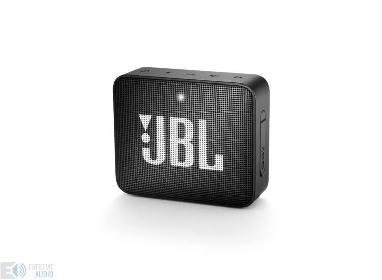 JBL GO 2  hordozható bluetooth hangszóró (Midnight Black), fekete