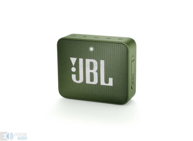 JBL GO 2  hordozható bluetooth hangszóró (Moss Green), zöld