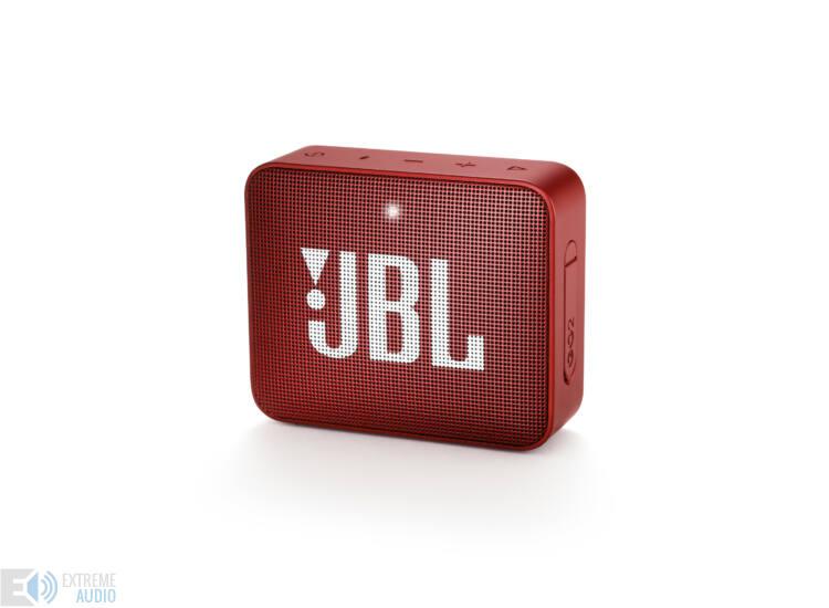 JBL GO 2  hordozható bluetooth hangszóró (Ruby Red), vörös