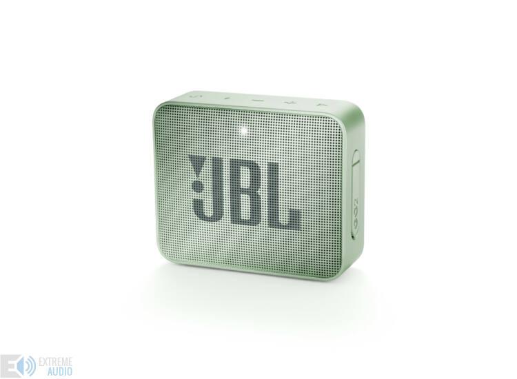 JBL GO 2  hordozható bluetooth hangszóró (Seafoam Mint), mentazöld