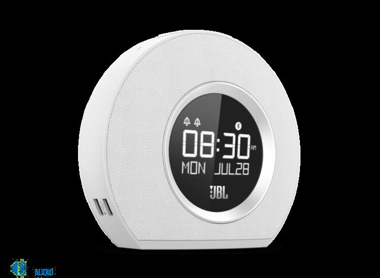 JBL Horizon, ébresztős bluetooth hangszóró, fehér