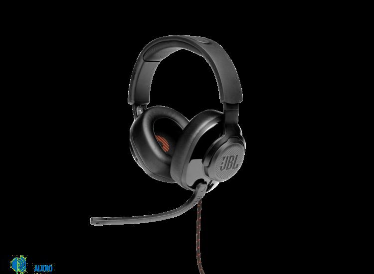 JBL Quantum 300  Gamer fejhallgató, fekete