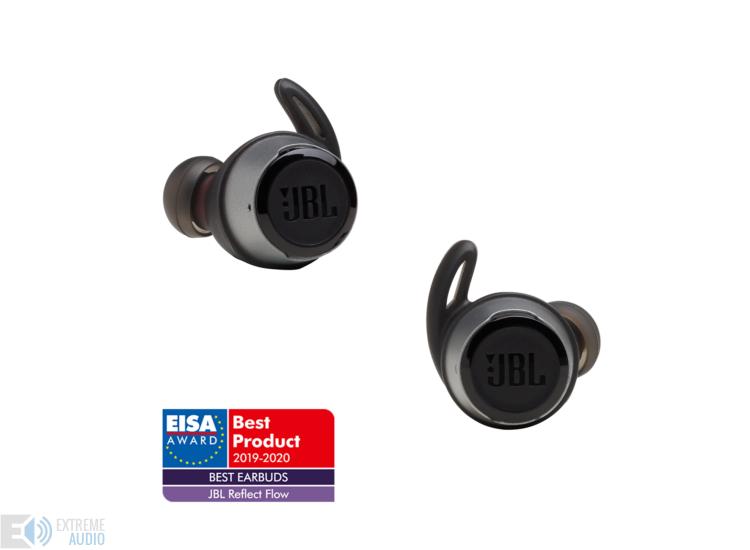 JBL Reflect Flow True Wireless sportfülhallgató, fekete