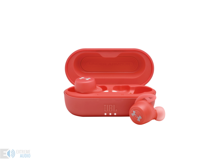 JBL Under Armour Streak True Wireless fülhallgató, piros (Bemutató darab)