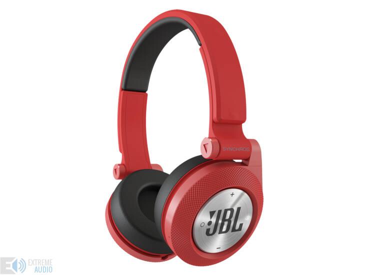 JBL Synchros E40 Bluetooth fejhallgató, piros DEMO