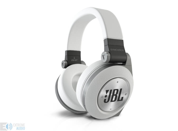 JBL Synchros E50 Bluetooth fejhallgató, fehér