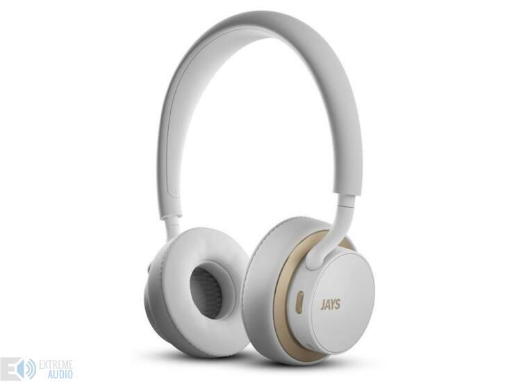 JAYS u-Jays  bluetoothos fejhallgató fehér arany