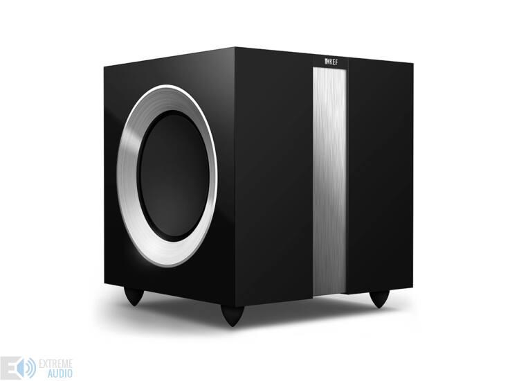KEF R400b mélysugárzó, zongoralakk fekete