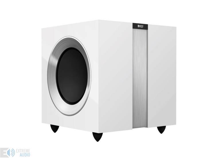 KEF R400b mélysugárzó, zongoralakk fehér