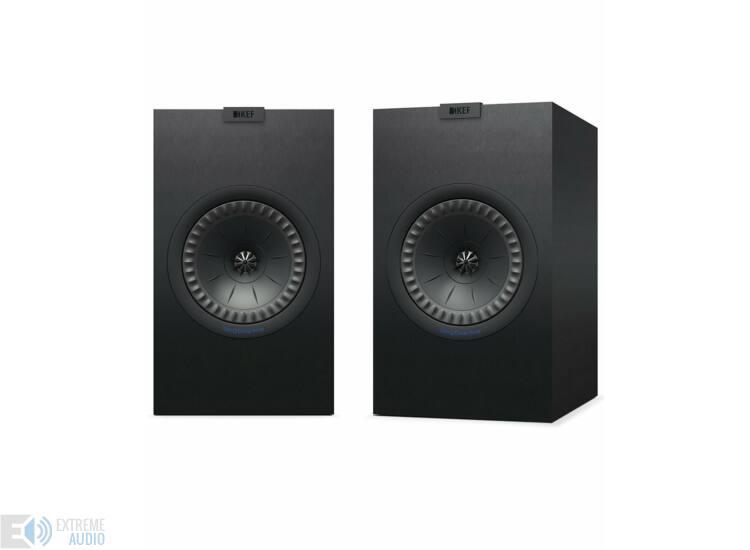 KEF Q350 polcsugárzó pár, fekete