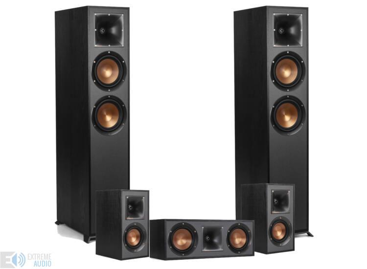 Klipsch R-620F 5.0 hangfal szett, fekete