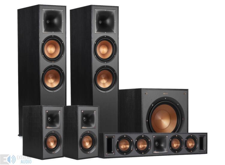 Klipsch R-820F 5.1 hangfalszett, fekete