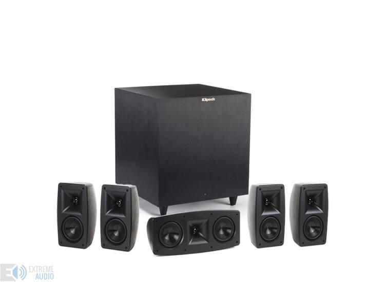 Klipsch Quintet 5 + R-8SW 5.1 hangfal szett, fekete