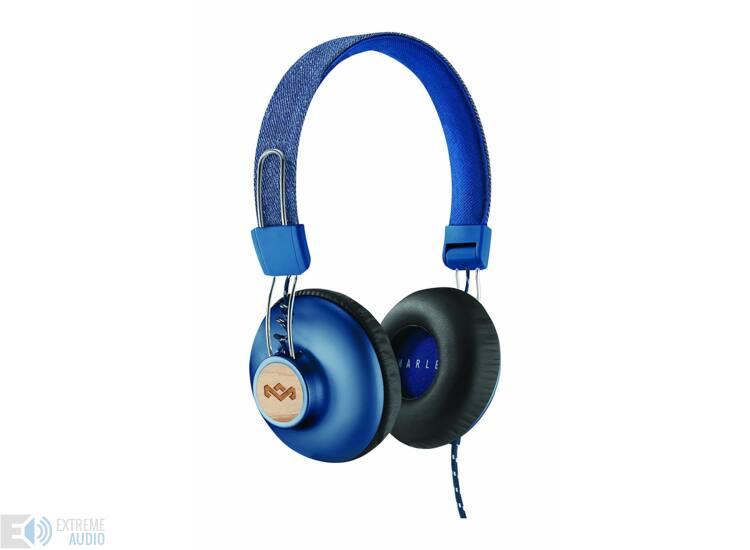 Marley Positive Vibration 2 fejhallgató, denim (EM-JH121-DN)