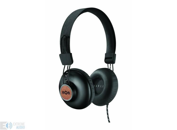Marley Positive Vibration 2. Black (EM-JH121-SB) fejhallgató, fekete (Bemutató darab)